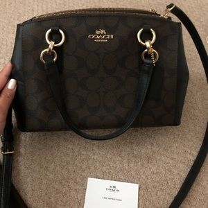 Coach Signature Mini Christie Cry bag